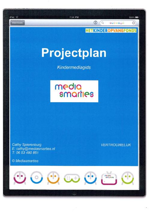 Projectplan Kindermediagids