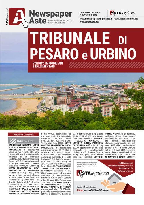 Pesaro Urbino novembre 2016