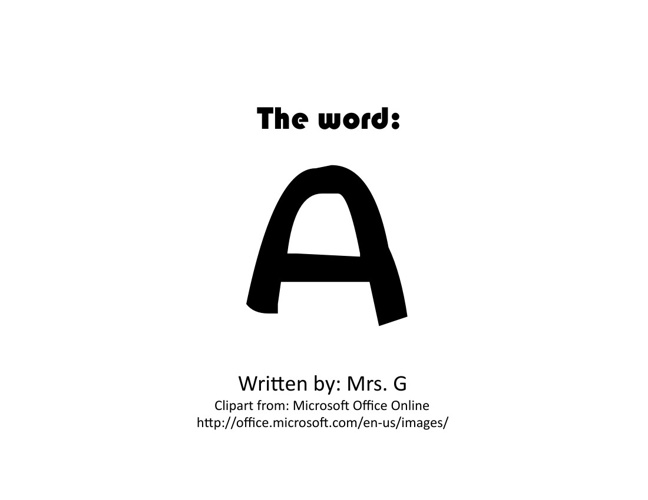 The Word A