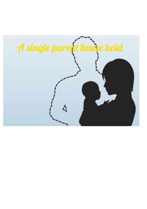 A single parent household