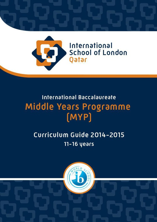 MYP Curriculum Guide - 2014 to 2015