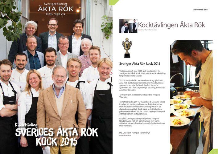 Sveriges Äkta Rök kock 2015
