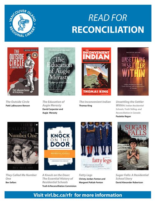 Read For Reconciliation Book List