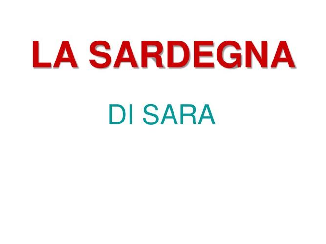 SARDEGNA SARA