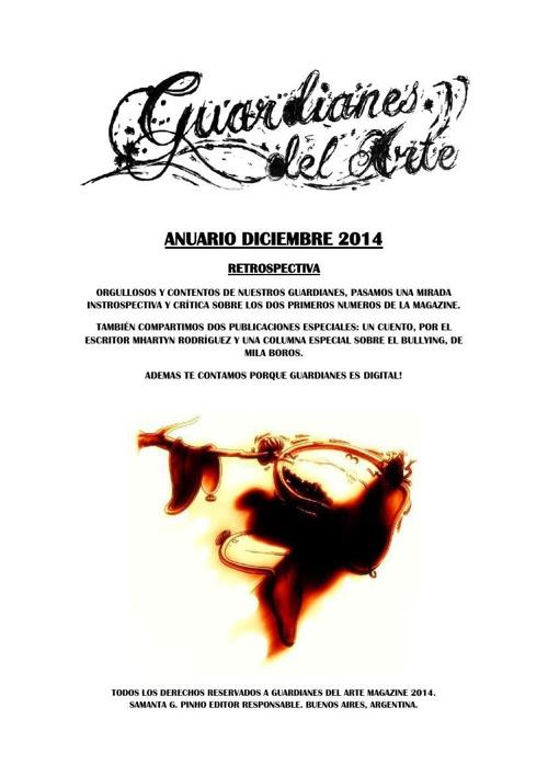 Guardianes Del Arte Anuario 2014