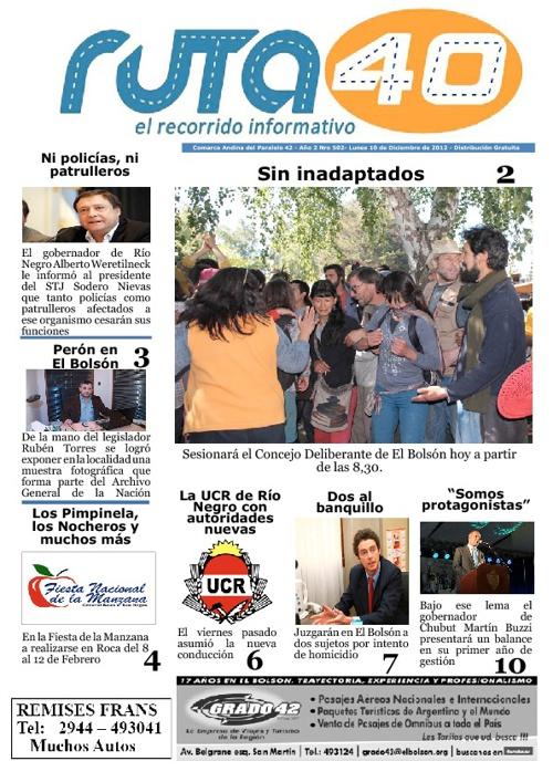 Lunes 10 de Diciembre del 2012