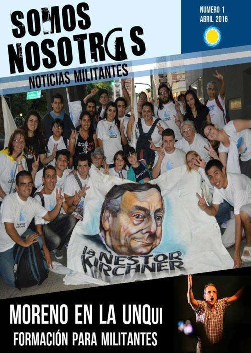 Revista Somos Nosotros (los militantes)