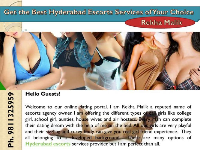 Get the Best Hyderabad Escorts Services of Your Choice