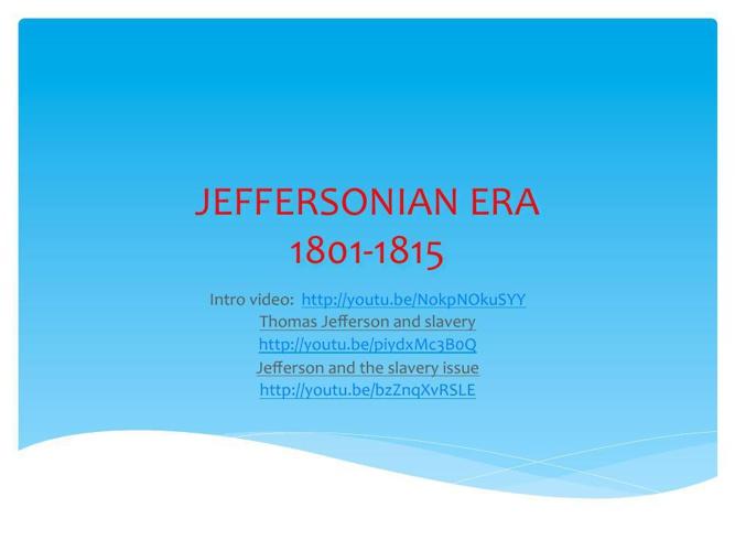 JEFFERSON ERA-1801-1815-pdf