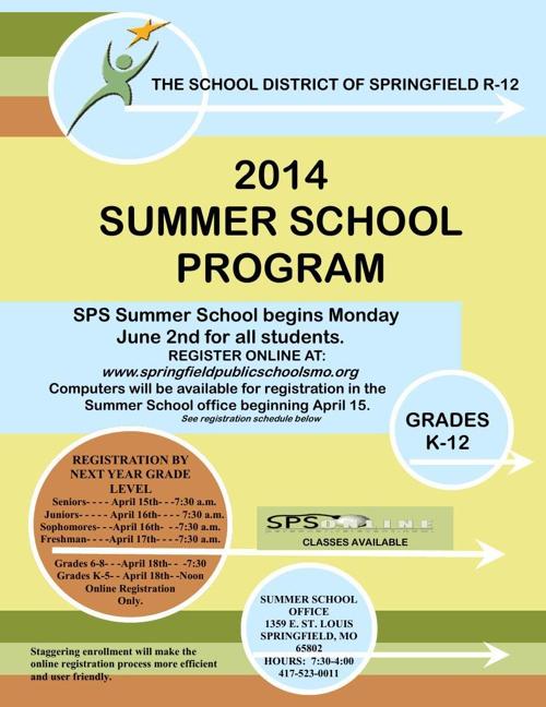 2014 Summer School Brochure