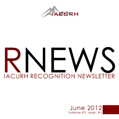Volume #2 - IACURH Recognition News - 2012-2013