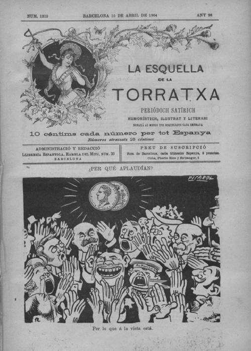 Esquella de la Torratxa num 1319 abril 1904