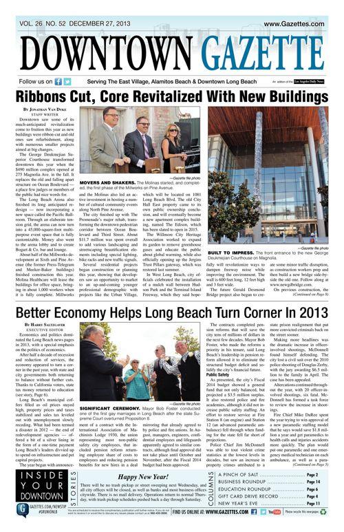 Downtown Gazette  |  December 27, 2013