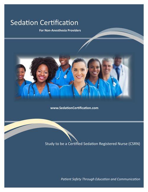 Sedation Certification Brochure