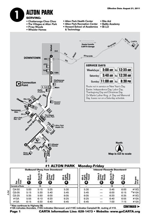 CARTA Transit Guide & Bus Schedules