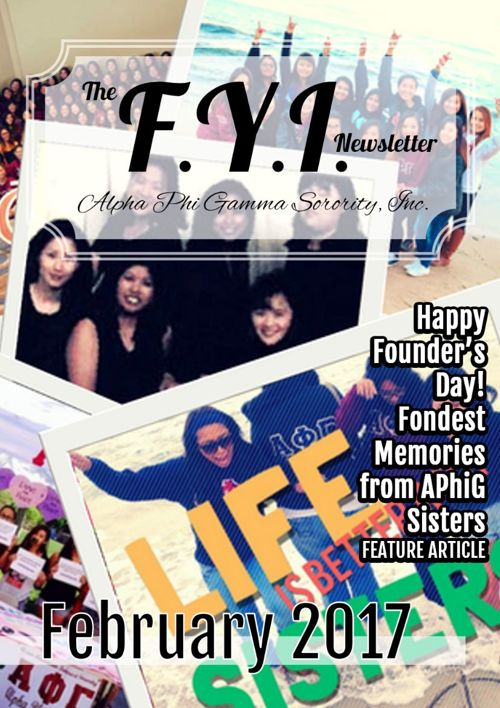The F.Y.I. Newsletter - February 2017