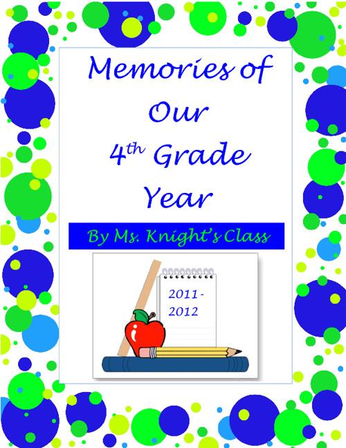 Fourth Grade Memories I
