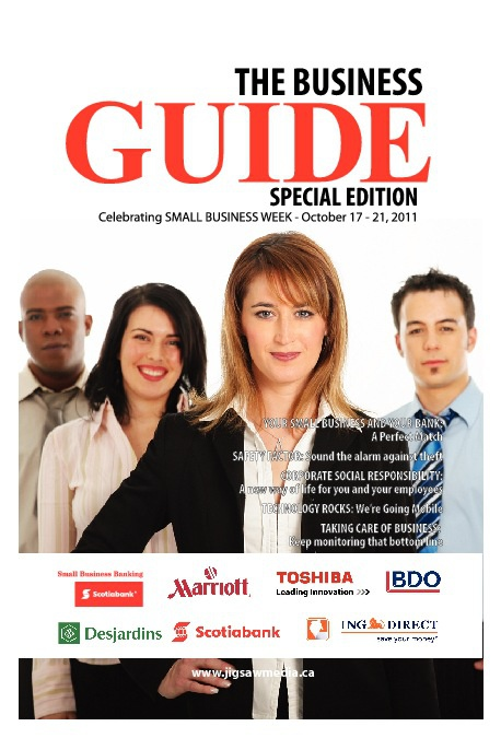 "The Business Guide ""Small business week 2011"""
