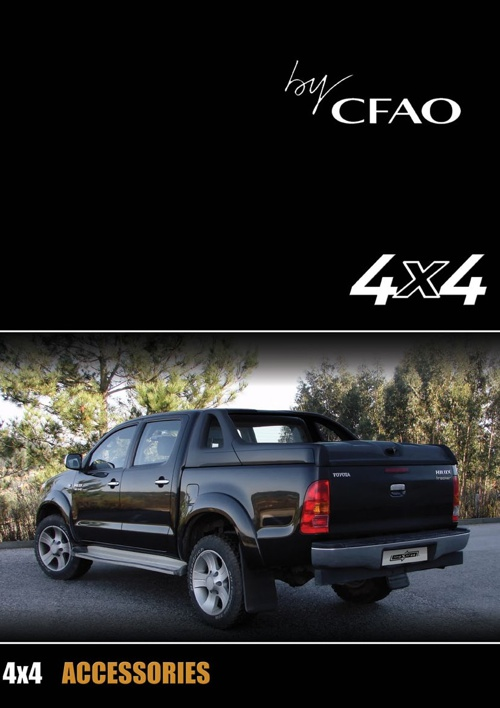 Catalogue 4x4 CFAO