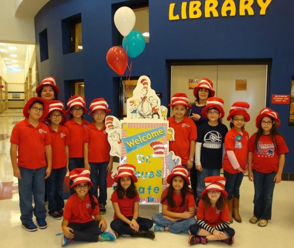 Aida Escobar Celebrates Dr. Seuss