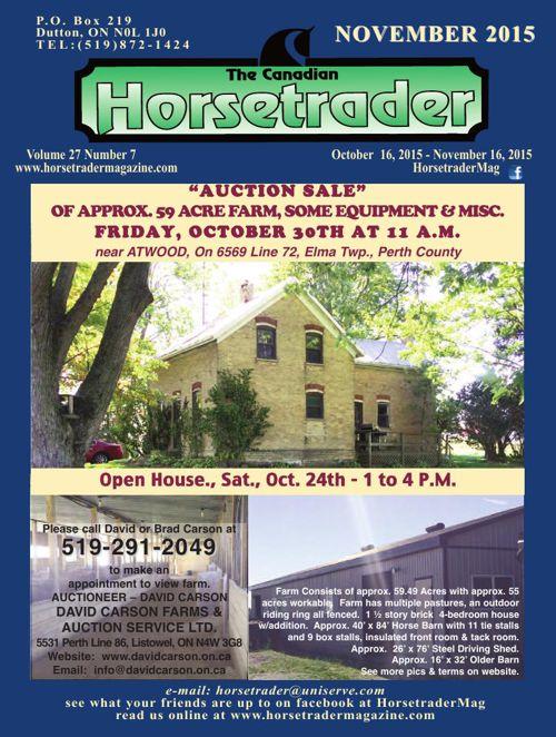 Horse trader Magazine Nov 2015