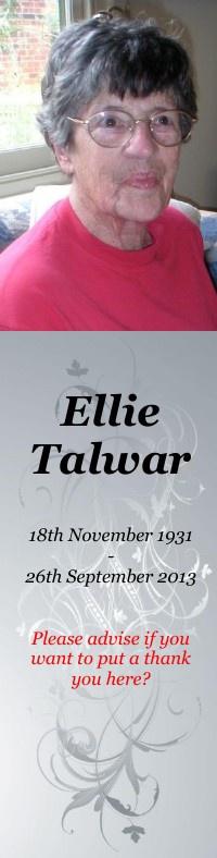 Ellie Tawar