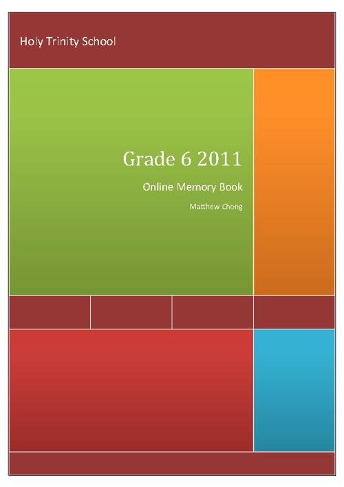 Matt's Online Memory Book
