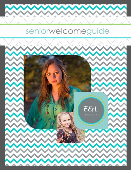 Senior Welcome Guide by Emi & Lynn's Photography