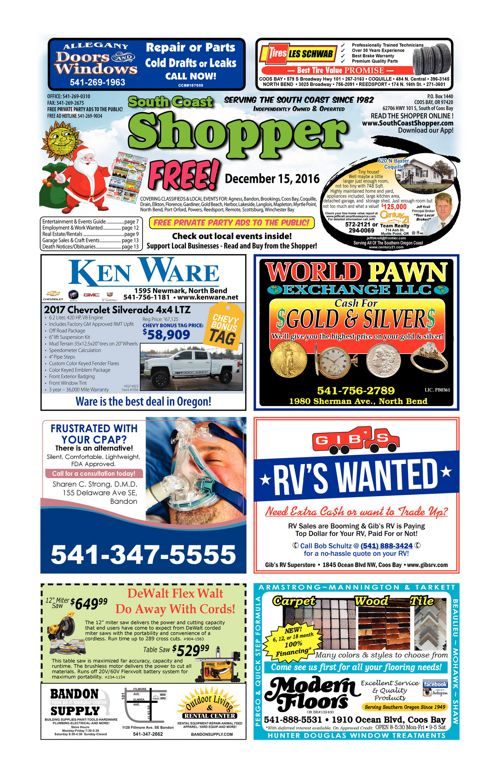 South Coast Shopper e-Edition 12-15-16