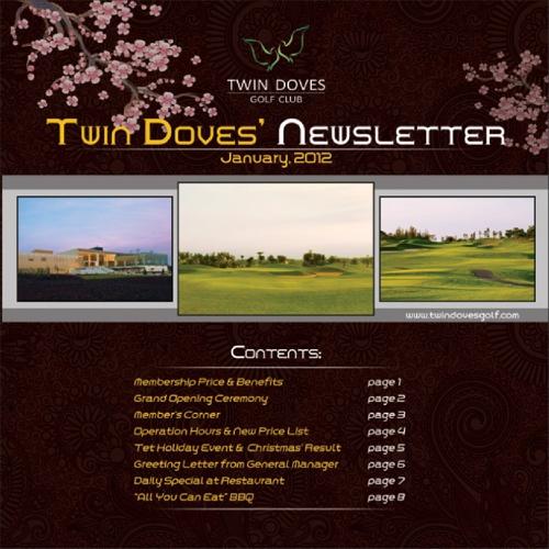 Twin Doves Newsetter 2012