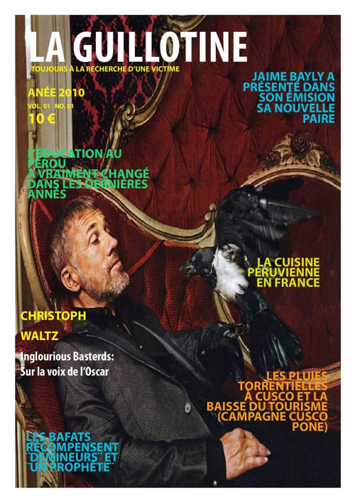 Revista La Guillotine