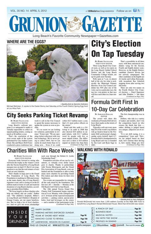 Grunion Gazette | April 5, 2012
