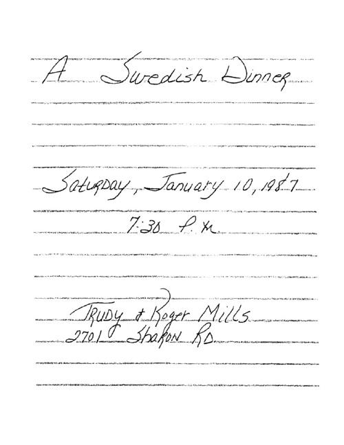 Mills Jan 1987