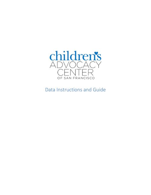 CA Data Manager's Guidebook