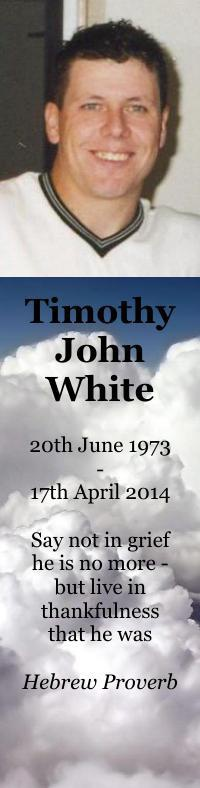 Bookmarks for Timothy White