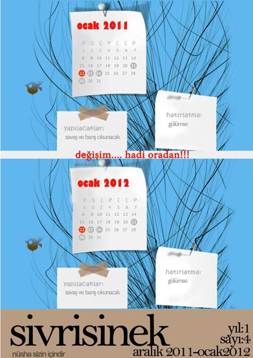 Sivrisinek Aralık-Ocak 2011-2012
