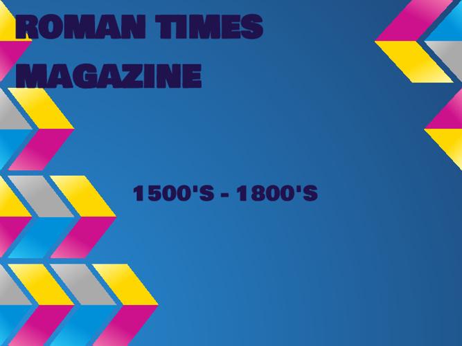 Roman Time Magazine