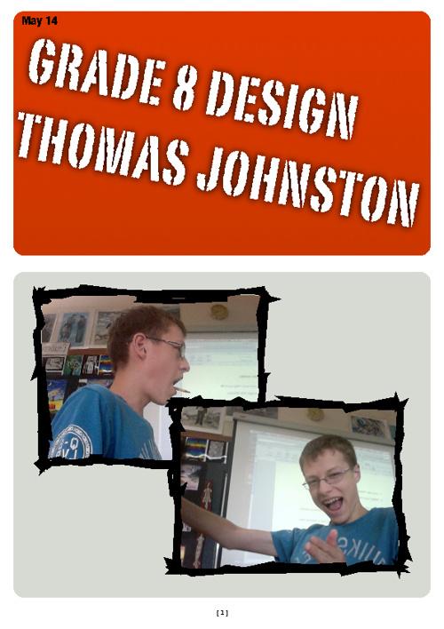 Design 8 Portfolio Thomas