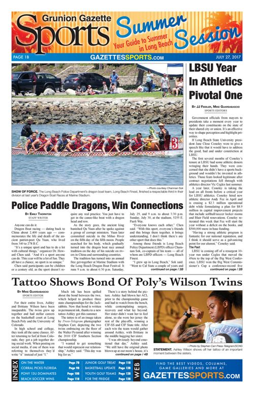 Gazette Sports July 27, 2017