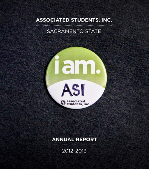 ASI at Sac State - Annual Report 2012-2013