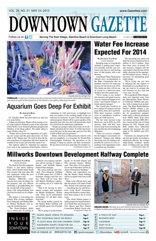 Downtown Gazette  |  May 24, 2013