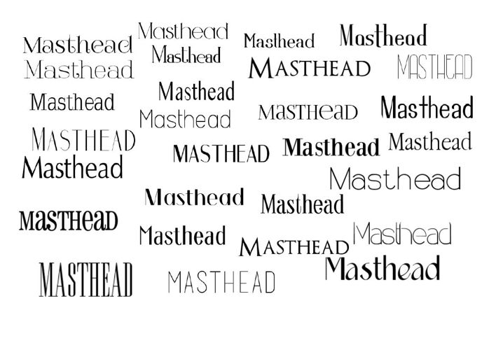Mood Board fonts