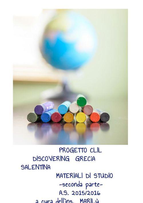 DISCOVERING GRECìA SALENTINA SECONDA PARTE