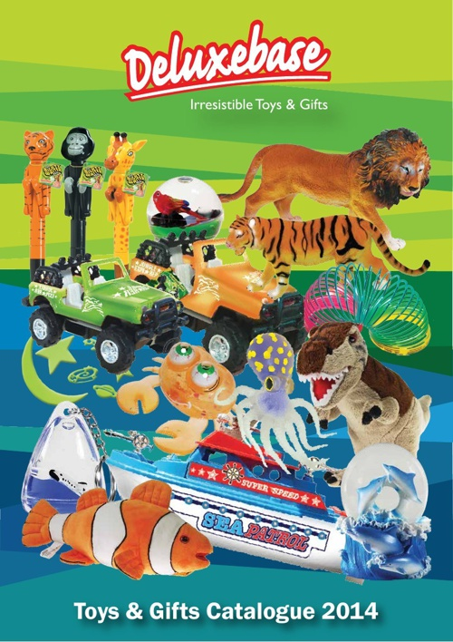 Deluxe Base - Toys & Gifts Catalogue 2014