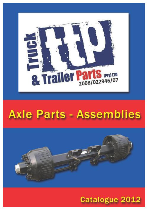 TTP Catalogue - Axle Parts (Assemblies)