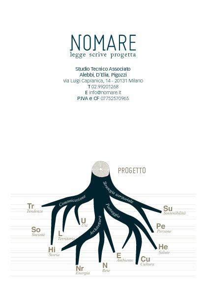 Nomare. Profilo e presentazione attività 2012