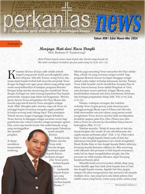 Perkantas News | Edisi I: Maret-Mei 2014