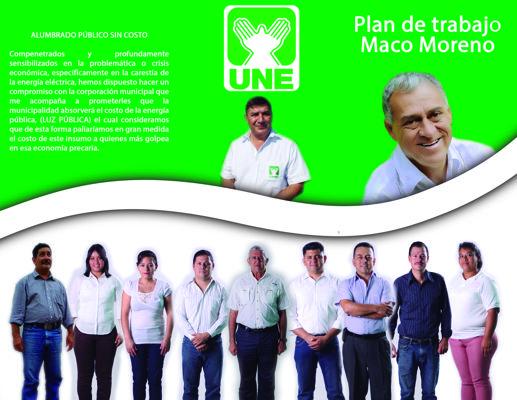 Plan de Gobierno Mejor Maco Moreno