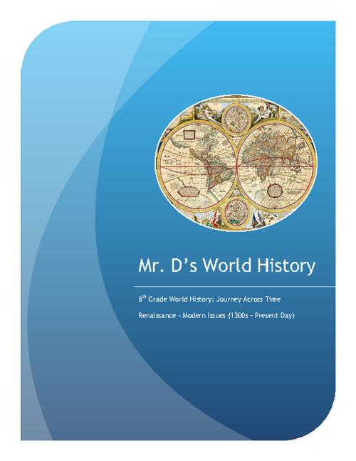 World History Syllabus 2011-2012