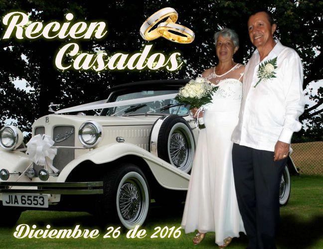 Matrimonio Rafael y Miriam